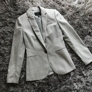 J Crew 1035 super 120's size 00 gray career jacket